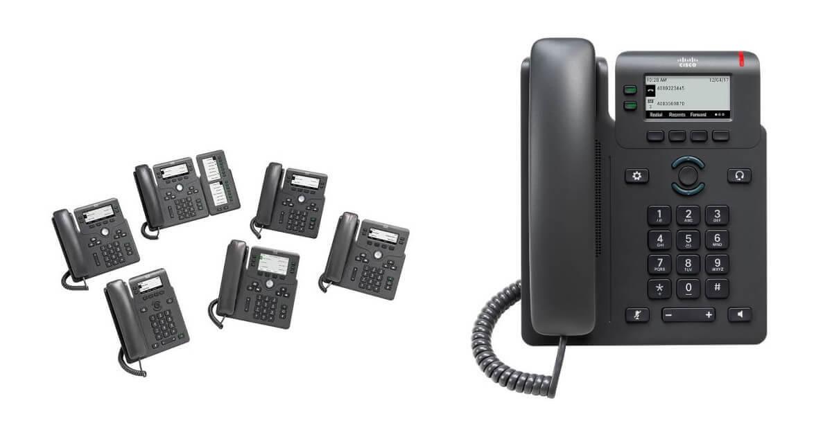 Cisco 6821 Multi-platform Office telephone (Picture)