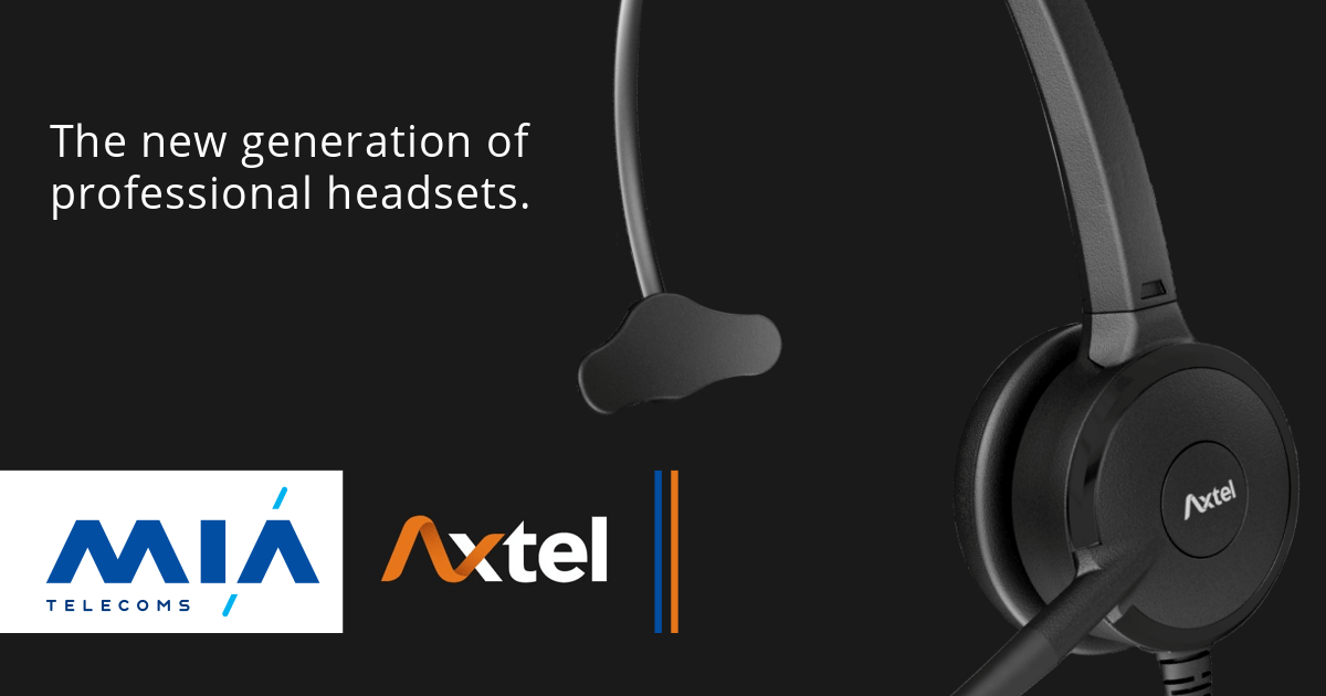 Axtel HEADSETS OFFICIAL DEALER MIA telecoms
