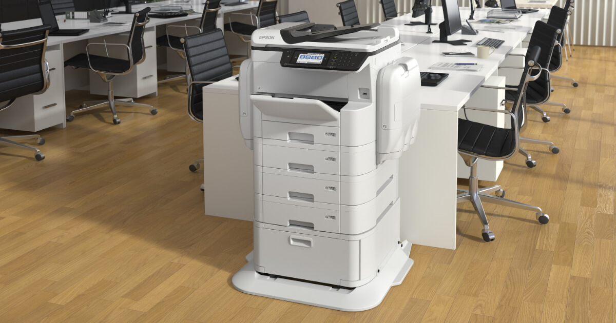 Epson WorkForce Multifunction Printer - scan, print, fax, email full colour or black and white