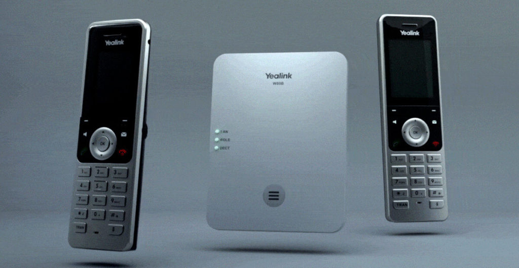 Yealink W80 DECT Base Multi-Cell System