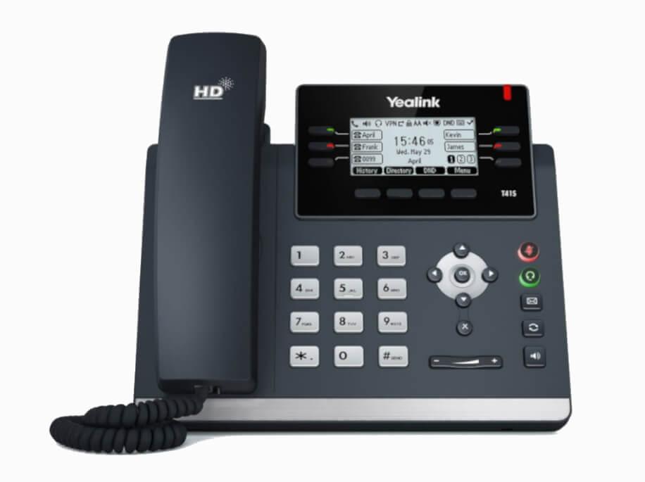 Yealink T41S SIP Phone Hero Image 1