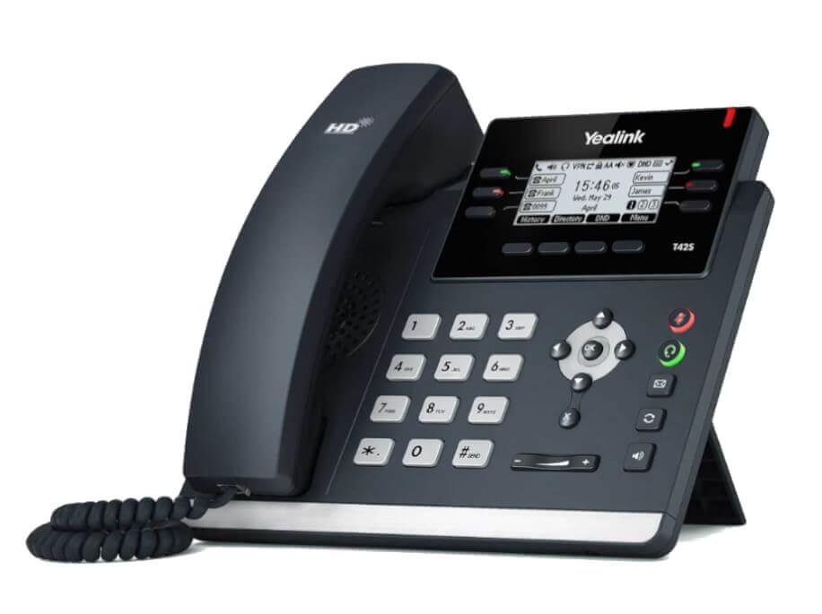 Yealink T42S SIP phone Hero Pic 1