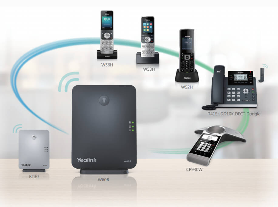 Yealink W52P DECT Phone Added functionality