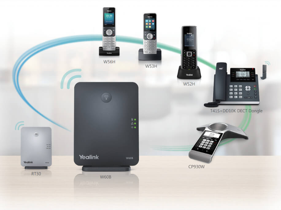 Yealink W53H DECT Phone Compatibility Image