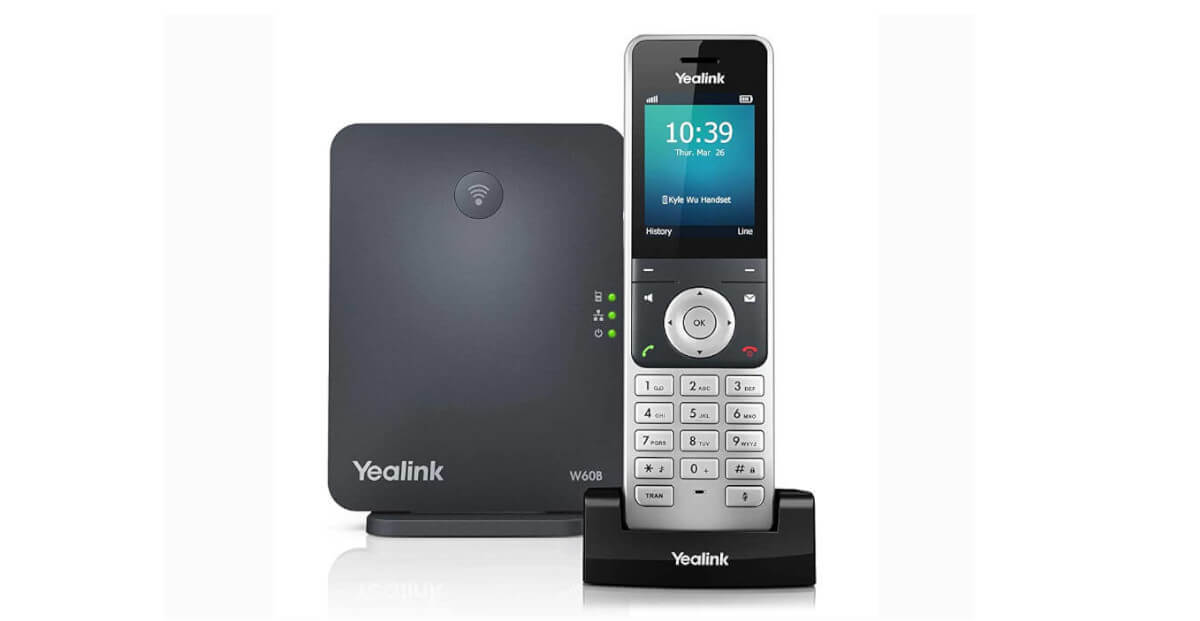 Yealink W60P DECT Phone FEATURED IMAGE