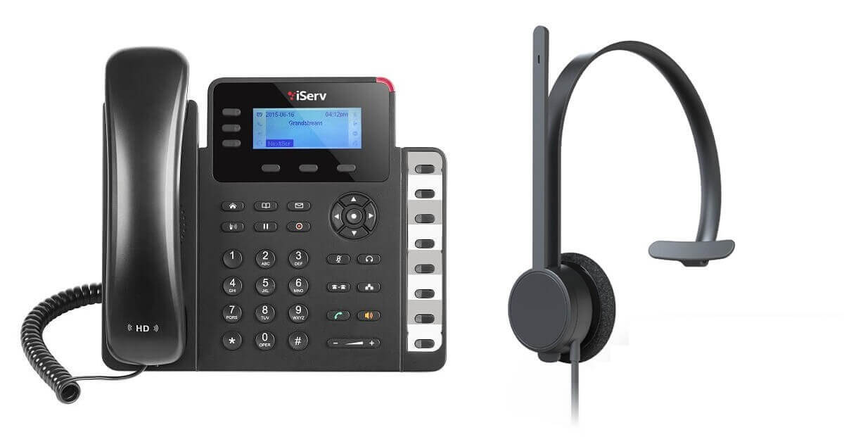 Headset and IP Phone Combo Promotion (Image)