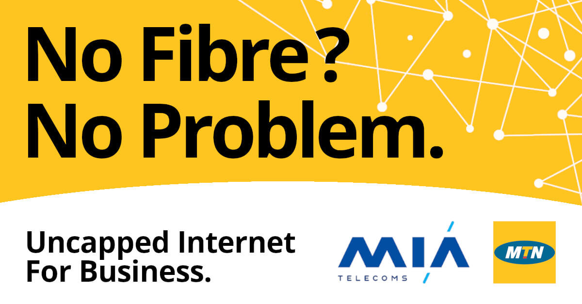 MTN Business Uncapped Internet, unlimited connectivity anywhere