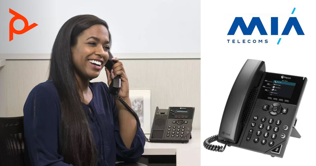 Poly VVX250 IP Phone Featured page Image