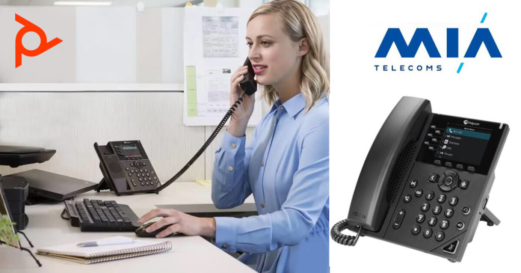Poly VVX350 IP Phone Featured Page Image